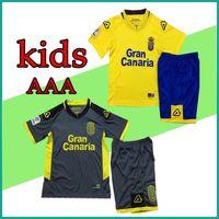 Wholesale Kids Prince - 2018 UD Las Palmas football kits kids Camisa Jonathan Viera Vitolo Calleri boys kit Soccer Jerseys Maillot Maglia PRINCE JESE VALERON Shirts