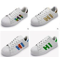 Wholesale Superstar Factory - 2017 Factory sale Superstar Stan Shoes Smith Sneakers Casual Leather Men or Women Sport Shoes Running Shoes Sneakers Zapatos