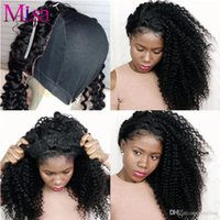 Wholesale Affordable Malaysian Curly Hair - Malaysian Deep wave bundles 4pcs human virgin hair Weaves kinky Curly remy Human Hair Extensions 10~30inch hair weft health end affordable