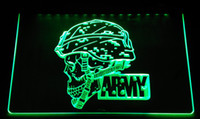 Wholesale Army Sign - LS2308-g Army LED Neon Light Sign Decor Free Shipping Dropshipping Wholesale 6 colors to choose