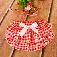 Everweekend Girls Baby Plaid Bow Ruffles PP Брюки Vintage Корея Западная мода Детская одежда Sweet Baby Party Clothing