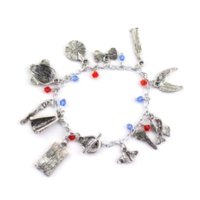 Wholesale Halloween Gas Masks - Hot TV Series Jewelry DW Doctor Who Bracelet SET TARDIS Police BOX Sonic Screwdriver GAS MASK DALEK EVIL ROBOT