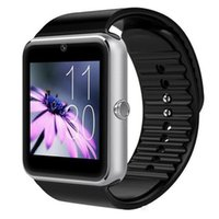 Wholesale Galaxy Platform - HOT GT08 Smart Watch Compatible Platform IOS Android With Pedometer Camera Monitoring Sleep Sedentary Reminder For iPhone Samsung Galaxy