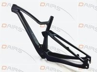 Wholesale Carbon Fibre Full Suspension Mtb - free shipping carbon full suspension frame carbon 650B MTB frame 27.5er 148*12mm thru axle mountain bike MTB frames 29er frame
