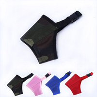 Wholesale pet lines - Pet dog muzzle Nylon pad with soft cloth lining 7 sizes for small and large dog wholesale free DHL