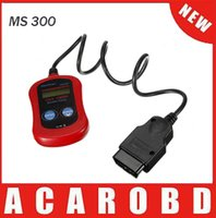 Wholesale Toyota Drop Shipping - Autel MaxiScan MS300 CAN OBD2 Auto OBD2 OBD II Diagnostic Scanner Code Reader Scan Tool USB Interface Drop Shipping