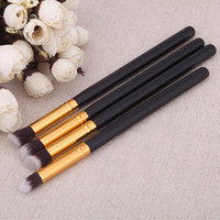 4pcs Make-up Pinsel billig Augenschminke Puder Foundation Mischen Pinsel Set Eyeliner Bürsten Make-up Pinsel-Kit
