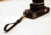 Wholesale Browning Tripod - Brown top 10mm dark Handmade Leather camera wrist strap
