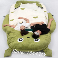 Wholesale Dorimytrader Kawaii Japanese Anime My Neighbor Totoro style Cartoon Beanbag Tatami Sofa Mattress for Children Gift cm X cm DY61094