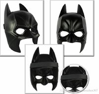 100pcs Real Airsoft Mask Darth Vader Costume Costume Costume Halloween Costume Cartoon Simulation Homme Adultes Batman Black Plastic And Half Face