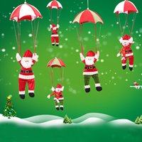 Wholesale Christmas Parachute Santa - Lovely Hanging Christmas Pendant Parachute Santa Claus Decoration Great for Home Ceiling