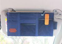 Wholesale Cheap Car Sun Visors - Cheap Coloful Cloth Multifunction Car Sun Visor Case Stronge Bag organizador