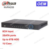 Dahua OEM DH-NVR4208 8 canali Canale 2 SATA fino a 8 TB HDD Network Video Recorder NVR