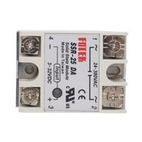 Wholesale Dc Ssr - Newest 1pcs Solid State Relay Module SSR-25DA 25A  250V 3-32V DC Input 24-380VAC Output Hot Selling!!