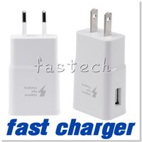 Wholesale Eu Charge Wall - 5V 2.1A usb charger Adapter Fast Charging EU US Plug travel Wall Charger For Samsung Galaxy S6 S6 Edge Note 4 USB Charger adaptive
