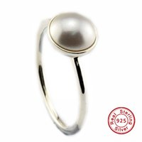 Wholesale Crystal Jewelry Setting Diy - 2016 Luminous Droplet, White Crystal Pearl 100% 925 Sterling Silver Bead Fit Pandora Ring Fashion Jewelry DIY Charm Brand