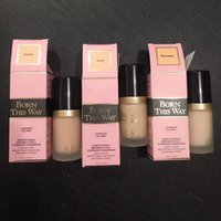 Wholesale Foundation Coverage - EPACK NEW Makeup Born This Way COVERAGE Foundation Liquid 6 color 30ML DHL shipping