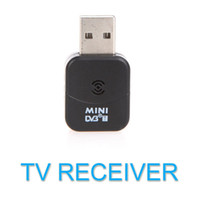 Wholesale Tv Recorder For Pc - DVB-T Mini USB Digital TV HDTV Stick Tuner Dongle Receiver Recorder+Remote Control for PC Laptop DVBT