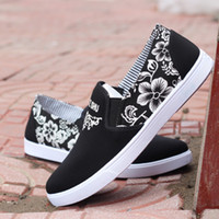Wholesale Korean Summer Shoes Men - 2016 spring men's canvas shoes youth shoes Korean version of the trend of casual shoes to help low shoes student shoes lazy shoes