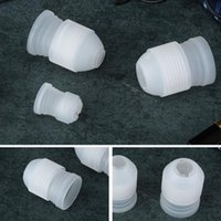 Wholesale Cake Icing Decor - Wholesale-2017 New Coupler Adaptor Icing Piping Nozzle Tip Bag Cake Mold Pastry Decor Free Shipping XL-231
