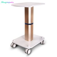 Brand New Styling Pedestal Rolling Cart ABS para Salon Body Care Beauty Equipment Use Trolley Stand