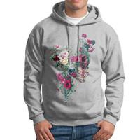 pulls molletonnés adultes en coton achat en gros de-Hoodies originaux décontractés pour hommes Sweatshirts et sweats à capuche