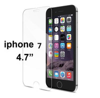 Wholesale Iphone Design Screen Protector - Iphone 7 Plus Screen protector film Tempered Glass 2.5D Arc design for 6S PLUS I6 I5 5S 5C for Samsung S6 S7 edge