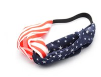 New American Flag Turban Headband EUA Headbands Headwrap Moda Elastic Hair Bandands Bandana Turban Hair Accessories