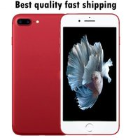 Wholesale Top 3g Android Phones - top quality Goophone 5.5inch i7 plus Quad Core 3G WCDMA Show 4G lte 1G ram 4G rom show 256GB phone with sealed box