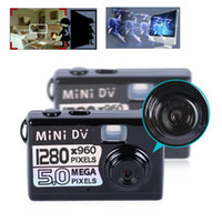 Wholesale Small Hd Dvr Camera - 30pcs lot 5MP HD 1280*960 Smallest Mini Spy Digital DV Camera Video Recorder Camcorder Webcam DVR