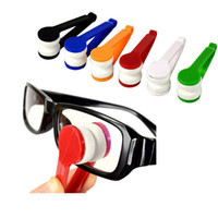 Wholesale Mini Glasses Clean Tools - Mini Sun Glasses Eyeglass Microfiber Brush Sun Glasses Glass Cleaner Cleaning Spectacles Tool Clean Brush wen4360