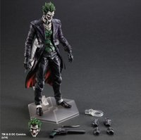 origins hand - Action Figures Marvel hero Batman Arkham origins change Play arts game version clown doll movable joints hand Office animation model CM PC