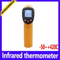 Wholesale Infrared Target - non contact infrared thermometer with laser targeting Temperature With Laser Gun GM300