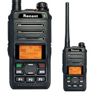 Wholesale Channel Radio Set - dPMR Professional 3W Digital Radio RS309D Walkie Talkie Set 256 Channels LCD Display Radio Transceiver SMS CTCSS DCS