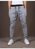Nice Mens Joggers Fashion Harem Pants Брюки Hip Hop Slim Fit Sweatpants Мужчины для бега трусцой Black Grey Wine Red Спортивные штаны M-1XL