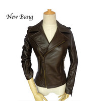 Cheap Motorcycle Real Leather Jacket Women | Free Shipping ...