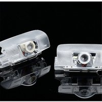 2PCS Car LED Door Welcome Logo luz fantasma Shadow Light Laser lámpara del proyector para Lexus RX300 IS250