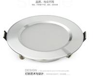 Wholesale Downlight Frame - 3w 5w 7w 9w 12w 13w 15w 18w 20w LED round Downlight AC200-265V LED Ceiling Spot Light silver frame