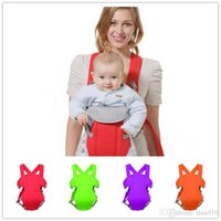 3-16 months orange stool color - New color DHL cheeper braces The waist stool baby carrier breathable multifunctional strap waist stool the backpack B0501