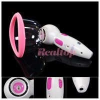Wholesale used vacuum pump - New arrive!Vacuum suction pump breast enlargement massage breast enhancer brest nipple lifting machine for home use