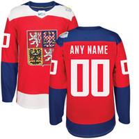 Wholesale Wholesale Order World - Wholesale 2016 World Cup of Hockey Czech Republic Team Jersey David Krejci Tomas Hertl Frolik Voracek Sobotka Kempny Pastrnak WCH Mix Order