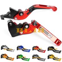 Wholesale Cnc Y - 8 Colors CNC Folding And Extendable For Honda XRV750 L-Y Africa Twin 1990-2003 Motorcycle CNC Foldable And Extending Brake Clutch Levers