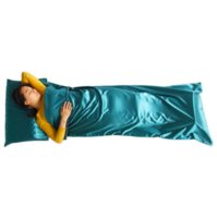 Wholesale Down Sleeping Bag Adult - NEW 1pc Hot Sale Ultra-light Portable Breathable Healthy Single Sleeping Bag Liner Pillow Cover Outdoor Camping Travel Supplies