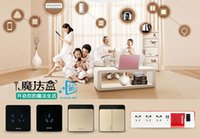 Wholesale Broadlink DNA HONYAR smart home remote control switch Phone wifi remote intelligent switch Villa grade switches Applicable ISO Android sy