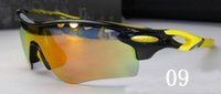 Wholesale Cycling Gifts For Men - 2016 Christmas gift new Goggles TR90 Frame Rd Pitch Polarized Cycling Sunglasses Bicycle Glasses Ski Goggle 5 Lens Uv For Protections