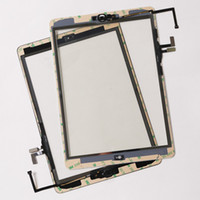 Wholesale Apple Ipad Camera - Brand new For iPad Air assembly For IPAD 5 Touch screen panel Digitizer completed with home button +flex cable +camera holder