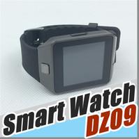 Wholesale Wholesale Iwatch - 20X No.1 kid DZ09 Smart Watch GT08 U8 A1 Wrisbrand Android iPhone iwatch watches SIM Intelligent mobile phone watch smartwatch B-BS