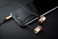 Wholesale noise cancelling mp3 player for sale - Music Earphone Sport Stereo Bass Portable Ear phone with Mic in ear Earbuds mp3 player Headset For Iphone X Samsung Note