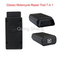 Wholesale Diagnostic Sym - Classical motorcycle scanner tool 7in 1 scanner tool repair tool for Honda, YAMAHA, SYM,KYMCO,HTF,PGO, and for SUZUKI Via DHL free