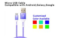 Wholesale Perfect S3 - 2M Nylon Braided Micro-USB Cable with TPE connector,perfect compatible with Samsung,Galaxy S3 S4 S6 Edge S7, HTC,Motorola,Nexus,etc